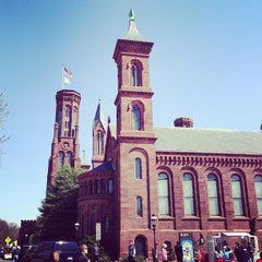 Photo taken at Smithsonian Institution Building (The Castle) by Carlos Q. on 4/5/2013