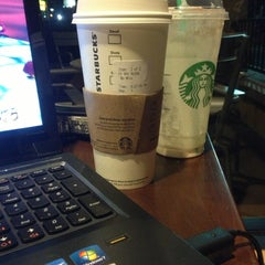 Photo taken at Starbucks by Kaitlin I. on 1/31/2013