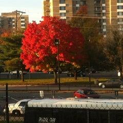 Photo taken at Rockville Metro Station by Riz on 10/18/2012