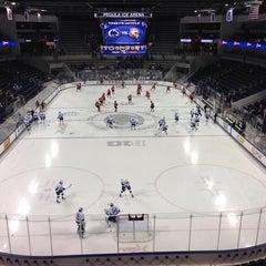 Photo taken at Pegula Ice Arena by John K. on 10/25/2013
