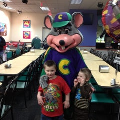 Photo taken at Chuck E. Cheese's by Heather H. on 3/20/2013