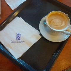 Photo taken at Scottish Parliament by Rod S. on 4/21/2015