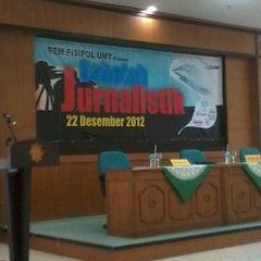 Photo taken at Gedung AR Fachruddin B by Angga Y. on 12/22/2012