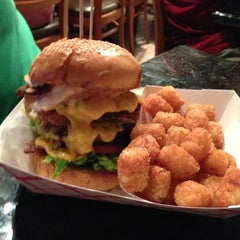 Photo taken at Charm City Burger Company by Paige on 10/5/2012