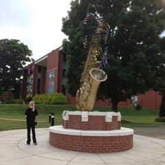 Photo taken at Lenoir-Rhyne University by Michael C. on 6/5/2013