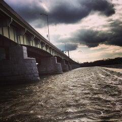 Photo taken at John Harris Bridge by Ryan C. on 2/6/2013