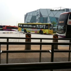 Photo taken at Jurong East Temporary Bus Interchange by Jaycee S. on 10/12/2012