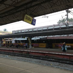 Photo taken at Thrissur Railway Station by Kannan B. on 1/9/2013
