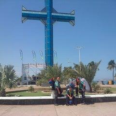 Photo taken at Plaza de la Cruz by Carlos F. on 3/27/2013