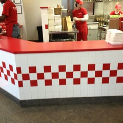 Photo taken at Five Guys by Chris M. on 1/25/2013