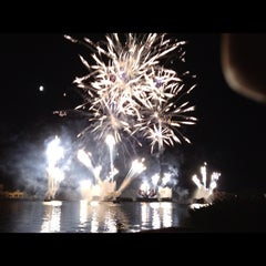 Photo taken at IllumiNations: Reflections of Earth by Aldouse H. on 10/31/2012
