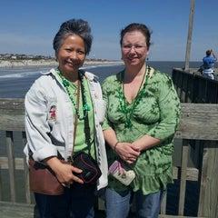 Photo taken at Atlantic ocean Tybee Island by Rich H. on 3/16/2013