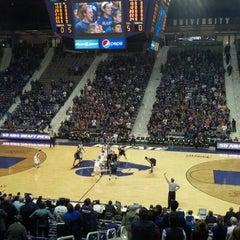 Photo taken at Bramlage Coliseum by Bob S. on 10/31/2012