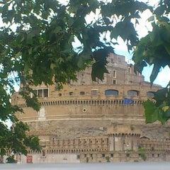 Photo taken at Giardini di Castel Sant'Angelo by Chrîstian H. on 5/20/2013