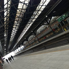Photo taken at Dublin Connolly Railway Station by Estefanía J. on 6/19/2013