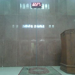 Photo taken at Masjid Baiturrahim by Mokhammad M. on 1/10/2012