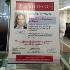 Photo taken at SAT Servicio De Administración Tributaria by KLoreth C. on 5/20/2013