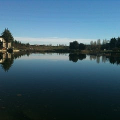 Photo taken at Parco Lago Nord by Matteo L. on 12/28/2012