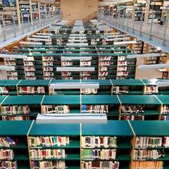 Photo taken at Biblioteca Francisco De Vitoria by Pablo O. on 5/3/2014