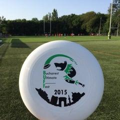 "Photo taken at Stadionul Național de Rugby ""Arcul de Triumf"" by Mehmet H. on 5/23/2015"