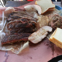 Photo taken at Franklin Barbecue by Aaron A. on 3/19/2013