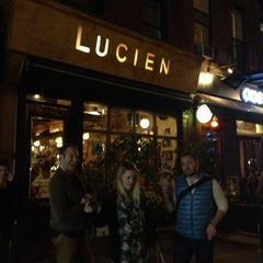 Photo taken at Lucien by Mindy J. on 10/11/2012