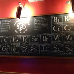 Photo taken at Miracle of Science Bar & Grill by Steven D. on 11/12/2012