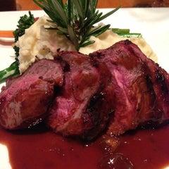 Photo taken at Boca Steak & Seafood by Shan S. on 4/27/2013