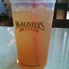 Photo taken at McAlister's Deli by Angie In M. on 5/18/2013