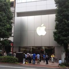 Photo taken at Apple Store 渋谷 by Hiroki on 9/21/2012