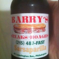 Photo taken at Barry's Steaks by Leonardo F. on 10/22/2012