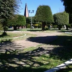 Photo taken at Plaza de Armas de Fresia by Paola B. on 9/25/2012