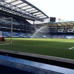Photo taken at Stamford Bridge by Brian P. on 4/7/2013