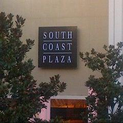 Photo taken at South Coast Plaza by Khaled M. on 8/27/2013