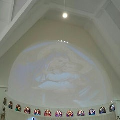 Photo taken at Gereja Santa Theresia by Spring S. on 5/10/2015