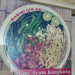 Photo taken at Bakmi Golek by Spring S. on 4/12/2015