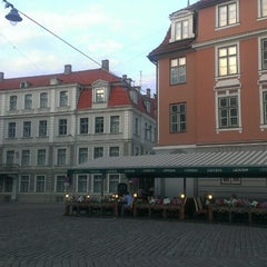 Photo taken at Pils laukums | Castle square by Mārtiņš C. on 6/25/2013