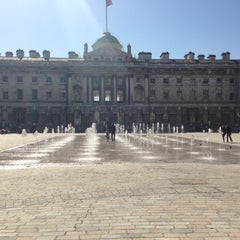 Photo taken at Somerset House by Maria on 4/20/2013