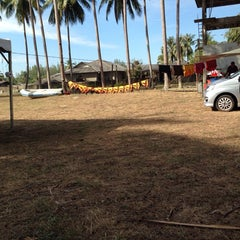 Photo taken at Kem Damai Resort by Shah R. on 4/7/2014