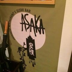 Photo taken at Asaka Japanese Restaurant by jiso a. on 11/9/2014
