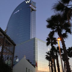 Photo taken at W Barcelona by Petr D. on 12/1/2012
