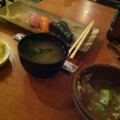 Photo taken at Sushi Time by Gretchen S. on 12/5/2012
