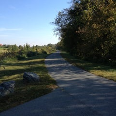 Photo taken at Muddy Creek Greenway by Laura G. on 9/27/2012