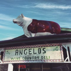 Photo taken at Angelo's Wine Country Meat & Deli by Anthony V. on 12/23/2014
