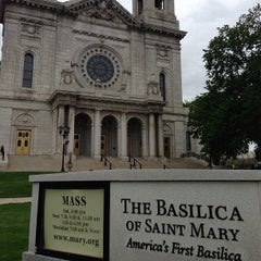 Photo taken at Basilica of Saint Mary by Jason T. on 5/26/2013