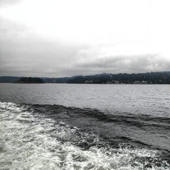 Photo taken at Departure Bay Beach by Rob L. on 10/10/2012