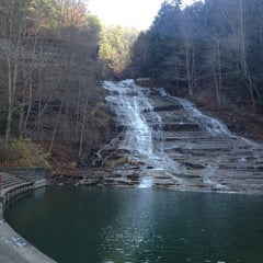 Photo taken at Buttermilk Falls State Park by Benson M. on 11/16/2012