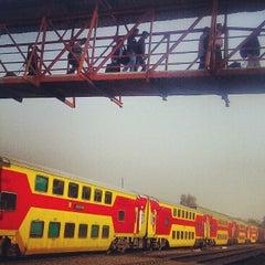 Photo taken at Gurgaon Railway Station (GGN) by Anubhav T. on 2/15/2013