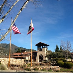 Photo taken at St. Francis Winery & Vineyards by Rob M. on 1/14/2013