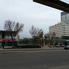 Photo taken at Churchill LRT Station by Jm H. on 10/14/2012